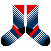 Red White and Blue Socks